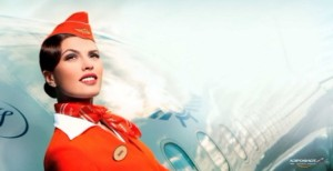 Aeroflot-Hostess